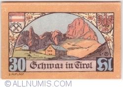 Imaginea #1 a 30 Heller 1921 (5. Auflage) - Schwaz