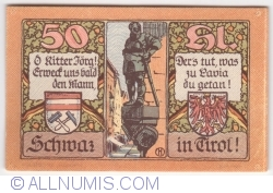 Imaginea #2 a 50 Heller 1921 (1. Auflage) - Schwaz