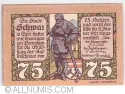 75 Heller 1921 (5. Auflage) - Schwaz