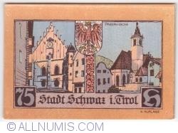 Imaginea #1 a 75 Heller 1921 (5. Auflage) - Schwaz