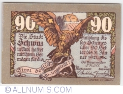 90 Heller 1921 (4. Auflage) - Schwaz