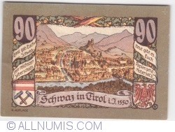 Imaginea #2 a 90 Heller 1921 (4. Auflage) - Schwaz