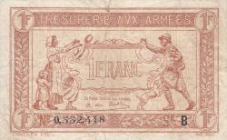 Imaginea #1 a 1 Franc ND (1917)