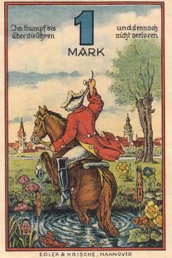Image #1 of 1 Mark 1920 - Rinteln