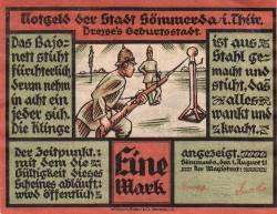 Image #1 of 1 Mark 1921 - Sömmerda (Thüringen)