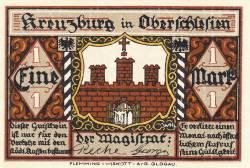 Image #1 of 1 Mark ND - Kreuzburg (Oberschlesien)