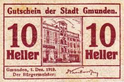 Image #1 of 10 Heller 1919 - Gmunden
