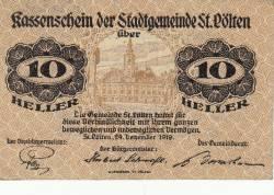 Image #1 of 10 Heller 1919 - Sankt Pölten