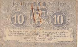 Imaginea #2 a 10 Heller 1919 - Steyr