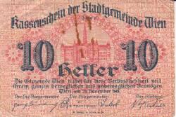 Imaginea #1 a 10 Heller 1919 - Viena