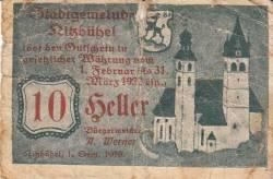 Imaginea #1 a 10 Heller 1919 - Kitzbühel
