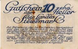 Imaginea #2 a 10 Heller 1919 -  Steiermark
