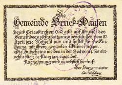 Image #2 of 10 Heller 1920 - Bruck-Waasen