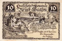 Image #1 of 10 Heller 1920 - Bruck-Waasen