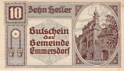10 Heller 1920 - Emmersdorf