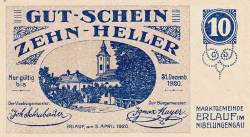 Imaginea #1 a 10 Heller 1920 - Erlauf