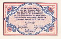 Imaginea #2 a 10 Heller 1920 - Eschenau im Pinzgau