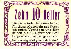 Image #2 of 10 Heller 1920 - Eschenau