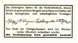 Imaginea #2 a 10 Heller 1920 - Fahrafeld (district în Sankt Pölten)