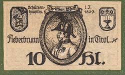 Imaginea #1 a 10 Heller 1920 - Fieberbrunn