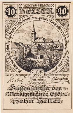 Image #1 of 10 Heller 1920 - Gföhl