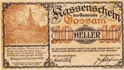 Imaginea #1 a 10 Heller 1920 - Gossam