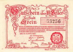 Imaginea #2 a 10 Heller 1920 - Grein