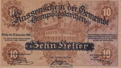 10 Heller 1920 - Gumpoldskirchen