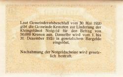 Imaginea #2 a 10 Heller 1920 - Kematen