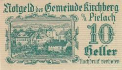 Imaginea #1 a 10 Heller 1920 - Kirchberg an der Pielach