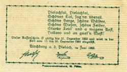 Imaginea #2 a 10 Heller 1920 - Kirchberg an der Pielach