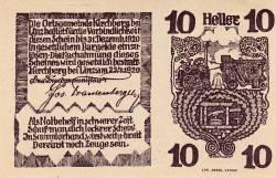 Imaginea #2 a 10 Heller 1920 - Kirchberg bei Linz