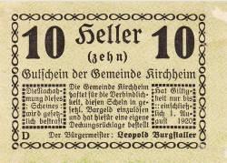 Image #1 of 10 Heller 1920 - Kirchheim
