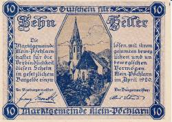 Imaginea #2 a 10 Heller 1920 - Klein-Pöchlarn