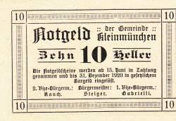 Image #2 of 10 Heller 1920 - Kleinmünchen