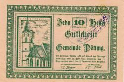 Imaginea #1 a 10 Heller 1920 - Pötting