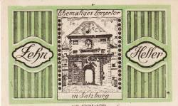 Imaginea #2 a 10 Heller 1920 - Salzburg