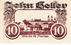 Imaginea #1 a 10 Heller 1920 - Sankt Florian