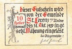 Image #2 of 10 Heller 1920 - Sankt Lorenz am Mondsee