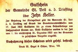 Image #2 of 10 Heller 1920 - Sankt Veit an der Triesting