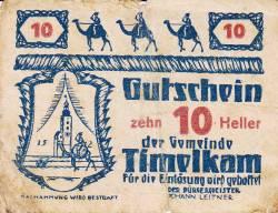 Image #1 of 10 Heller 1920 - Timelkam
