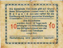 Image #2 of 10 Heller 1920 - Timelkam