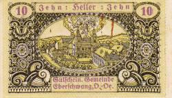 Imaginea #1 a 10 Heller 1920 - Eberschwang