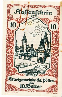 Image #1 of 10 Heller 1920 - Sankt Pölten