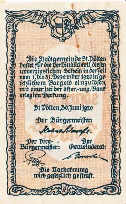 Image #2 of 10 Heller 1920 - Sankt Pölten