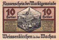 Image #1 of 10 Heller 1920 - Weißenkirchen in der Wachau