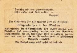 Image #2 of 10 Heller 1920 - Weißenkirchen in der Wachau
