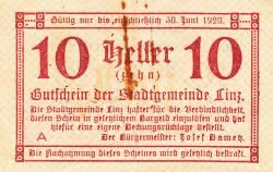 Image #1 of 10 Heller 1919 - Linz
