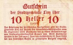 Image #2 of 10 Heller 1919 - Linz