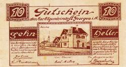 Image #1 of 10 Heller 1920 - Sankt Georgen im Attergau